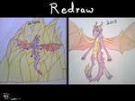 Spyro redraw thing by speedcow12