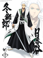 BLEACH - grown up HITSUGAYA by Nekozumi