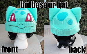 Bulbasaur Hat by WhiteOblivion