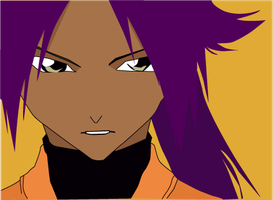 Yoruichi - Art Trade to Mifang by MD3-Designs