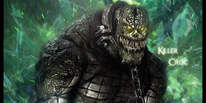 Killer Croc by TGTrigger