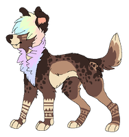 He's A Bit Shaggy -Design Sale- by Errored-Adopts