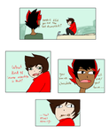 Kankri and Rufioh as Roomies by best8name8ever