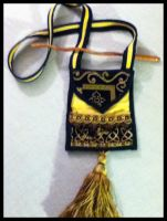 Hufflepuff Yule Bag by Mink-the-Satyr