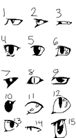 Eye practice by Ink--Chan