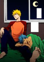 Ichigo and Grimmjow by ted1369