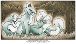Ghostly Kitsune by Nicole-Marie-Walker