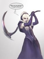 Death Vigil Fan art by Sparkyhawk
