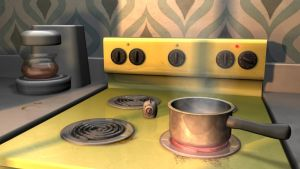 3D Kitchen by Dill-n