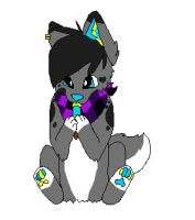 .:CO:. Broken licking popsicle- RainbowCrackArtist by Jayfeather4life