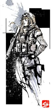 Rainbow 6 Siege Val by SkizzleBoots