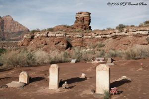 Grafton Ghost Town Cemetery by rjcarroll