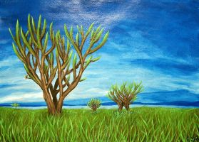 A Tree in its Environment I by Seyreene