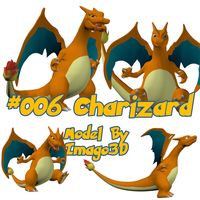 006 Charizard by imago3d