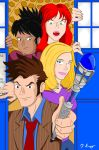 Four's a Crowd by KnoppGraphics
