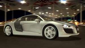 Audi R8 drive-by by Artwork-Production