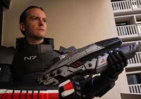 Male Shepard N7 Armor 2 by ParadoxJaneDesigns