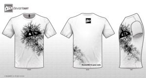 T-Shirt-InYourVeins-White by 0oKarurao0