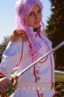 You can't fight against the power of Dios - Utena by KiraMinami