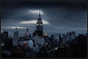 The Empire State by p0m