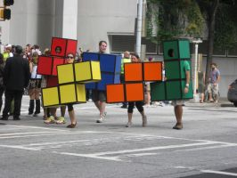 Dragon*Con 2012 Tetris cosplay by andy593