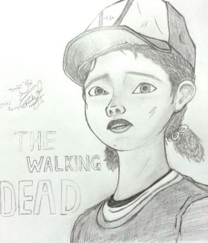 Clementine  Walking Dead by NoNoyuki