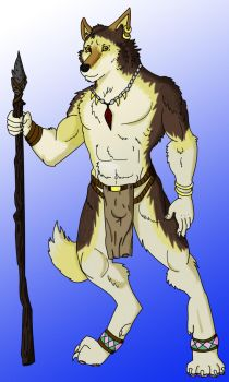 Wolfwarriorguypentool by Jhumperdink