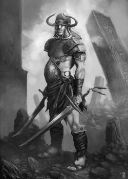 celtic warrior by cornwainer