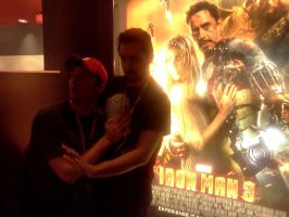 Jordan and Sly are now in Iron Man 3 by ShadowPeep