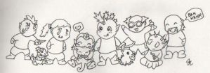 Chibi WOW Toons by chickenfoot87