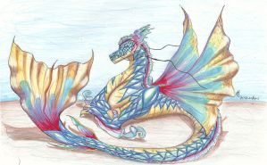 sea dragon by CandiceShadow