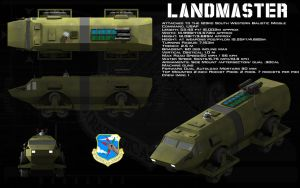 Landmaster ortho by unusualsuspex
