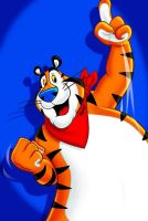 Tony the Tiger all grown up by Agent-Spiff