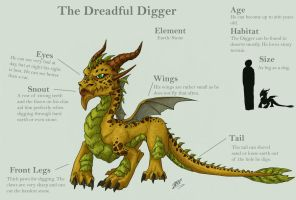The Dreadful Digger by Fyre-Dragon