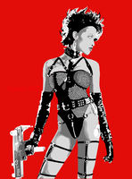 Sin City - Gail by Quezzi