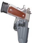 Gun in the Holster Precut Stock by CelticStrm-Stock