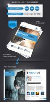 Modern Brochure A4 12 Pages by renefranceschi