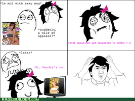 My 1st ever rage comic by ThePoisonSword
