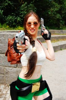 Tomb Raider Jungle by LauraCraftCosplay