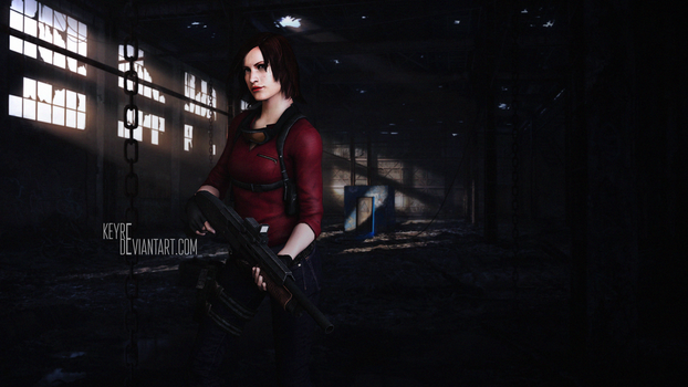 For AliceCroft | Claire Redfield: Ready to fight by Keyre