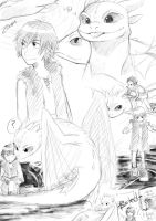 HTTYD -Sketches by Yoshiie