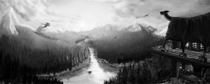 Valley by Vilest