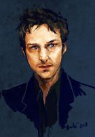 James McAvoy by auzzeh