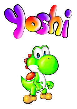 Yoshi by wired0101