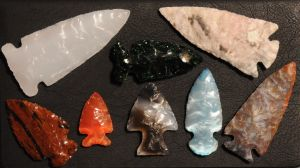 Some arrowheads I made by archiveit1
