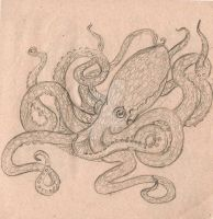 Octopus by IZZY-BD