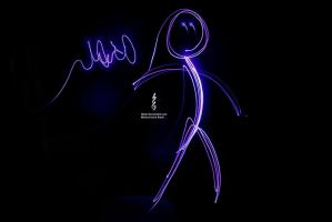 Light Painting test by Qisar