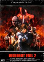 RESIDENT EVIL 2 by crowbrandon