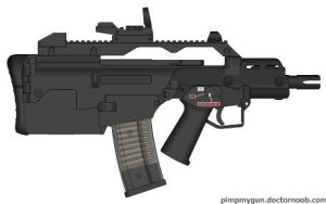 Bullpup G-36C by GeneralTate