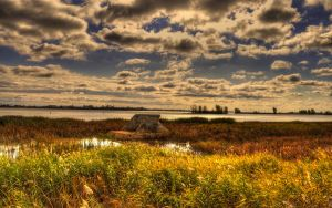Colorful Cloudy Saint Lawrence by z3dnf0urz4